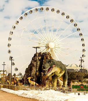 Dinosaur.  by Tibor Co