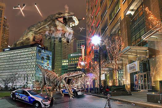 Dinotroit by Nicholas  Grunas