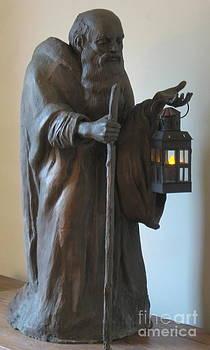 Diogenes with Lantern by Deborah Dendler