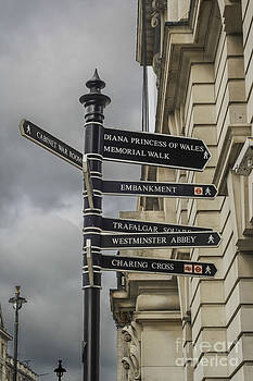 Patricia Hofmeester - Directions to landmarks in London