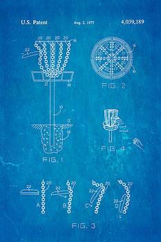 Ian Monk - Disc Golf - Frisbee Golf Patent Art 1977 Blueprint