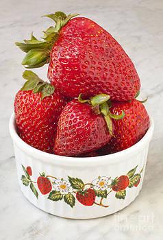 Jonathan Welch - Dish of Strawberries