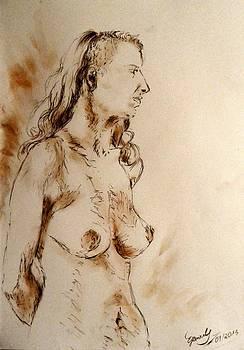 Dissenter - Nude by Elke Hensel