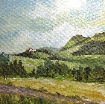 Distant Castle by Wendy Hill
