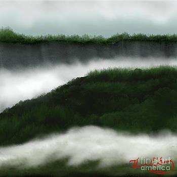 Distant Cliffs by Thomas OGrady