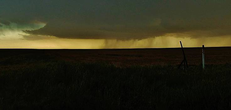 Distant Colorado Supercell by Ed Sweeney