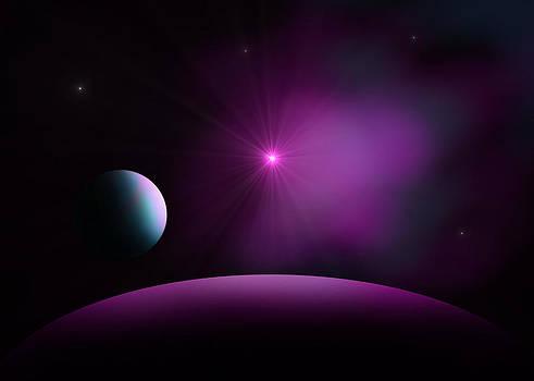 Distant Supernova by Ricky Haug