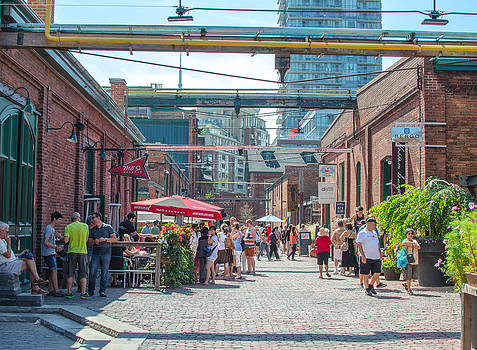 Distillery District by Eric Dewar