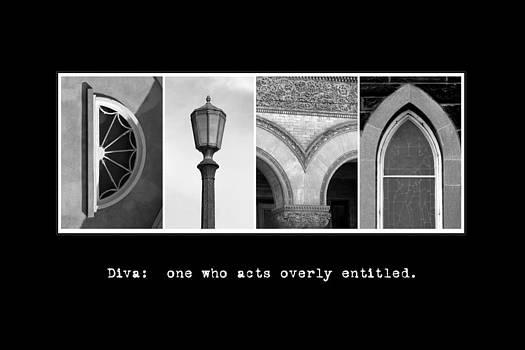 Kathy Stanczak - Diva Alphabet Art
