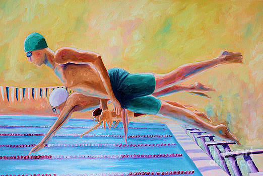 Diving off the Block by Todd Bandy