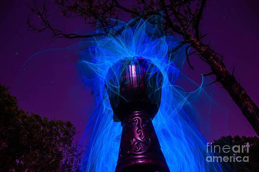 Djembe light painting by Shawn  Bowen