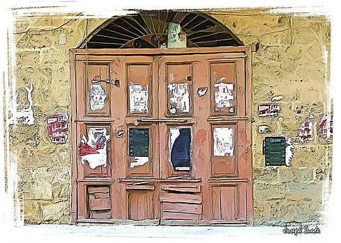 DO-00383 Old shop doors by Digital Oil