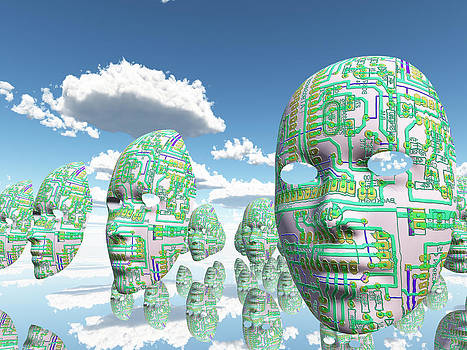 Do androids dream of electric sheep by Bruce Rolff
