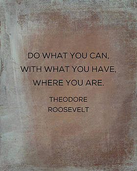 Do What You Can With What You Have by Kim Fearheiley