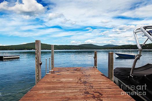 Jo Ann Snover - Dock on summer lake