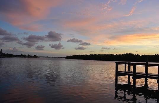 Patricia Twardzik - Dock Over the Bay