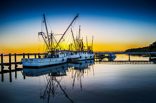 Docked For The Day by Richard Kook