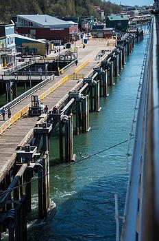 Marilyn Wilson - Docking at Juneau