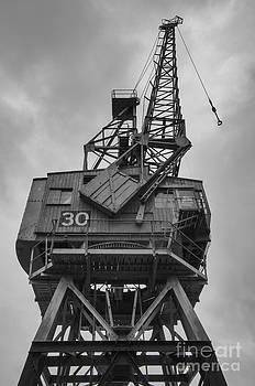 Dockyard crane 30 by Steev Stamford