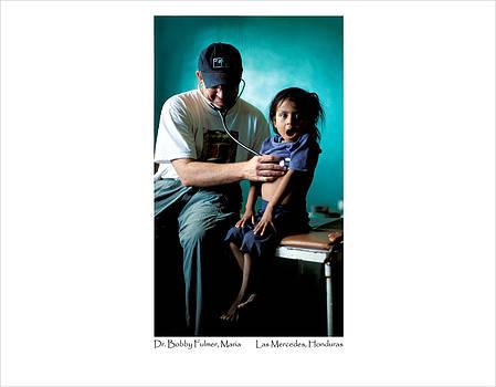 Doctor Examines Honduran Girl by Tina Manley