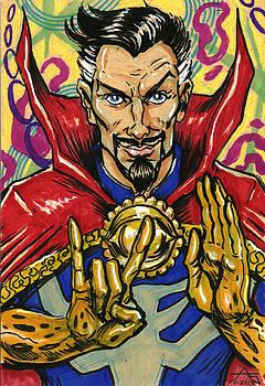 Doctor Strange by John Ashton Golden