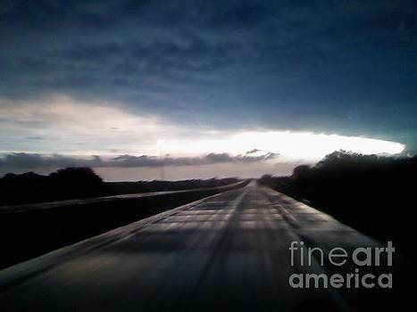 Vanishing Point Highway by Edward Fuller