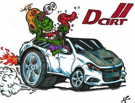 Dodge Dart  by Michael Toth