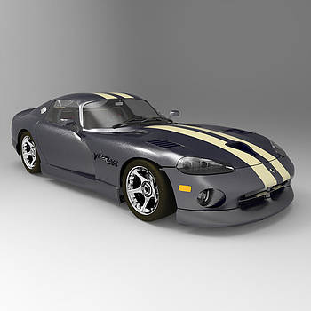 Dodge Viper by John Hoagland