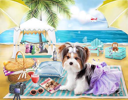 Dog Model by Catia Lee
