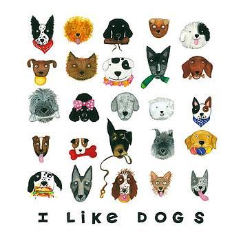 Dogs  by Barbara Esposito