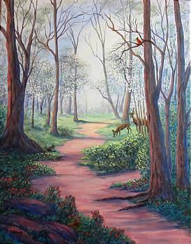 Dogwood Path by Fran Brooks