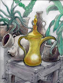 Doha Coffee Urn by Jack Adams