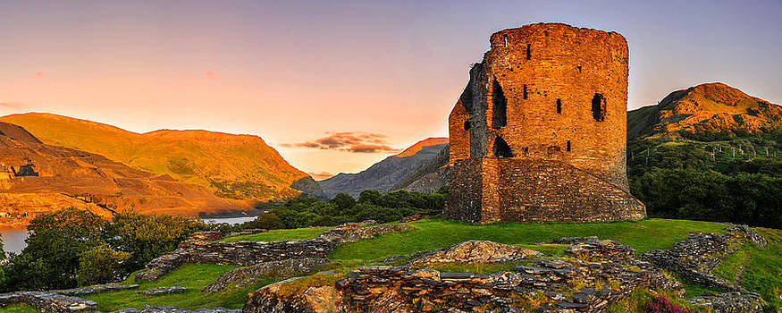 Dolbadarn Castle by Regie Marshall