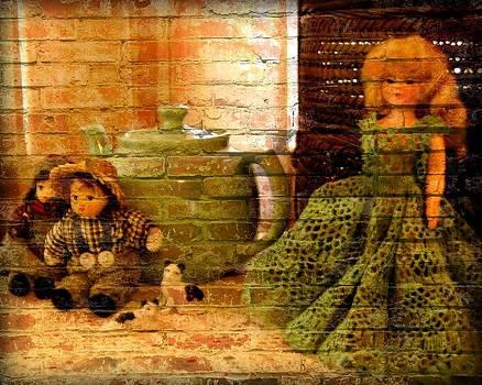 Dolls in Graffiti by Lois Bailey