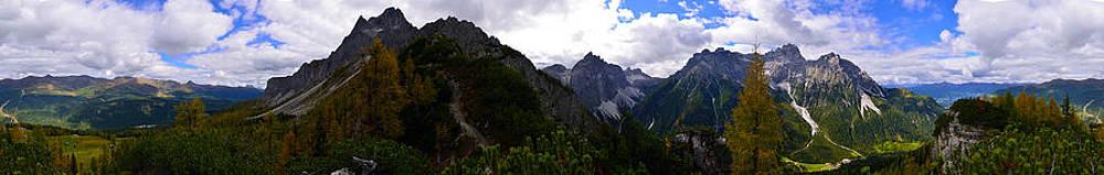 Matt Swinden - Dolomites 360 degree panorama