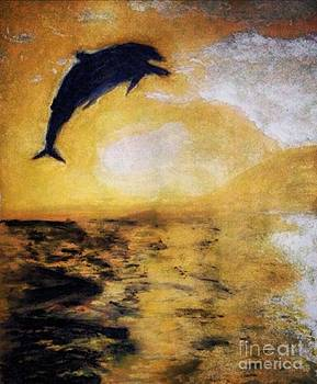 Dolphin  by Abiodun Bewaji