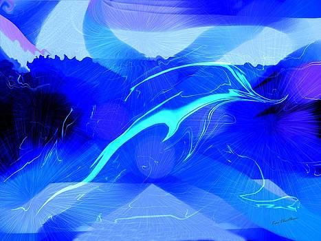 Kae Cheatham - Dolphin Abstract - 1