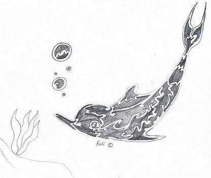 Dolphin Solo  by Kali Kardsbykali