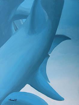 Dolphin Statue by Kayleigh Semeniuk