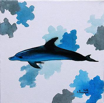 Dolphin Study by Kayleigh Semeniuk