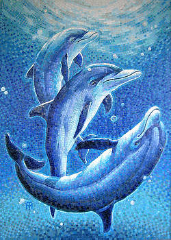Dolphin Trio by Mia Tavonatti