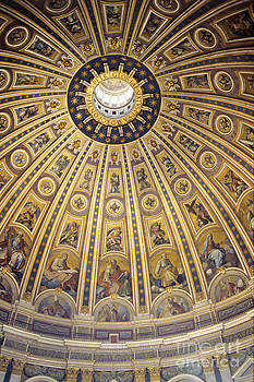 Dome of St Peter's by Derek Croucher