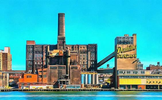 Domino Sugar Factory by Mick Flynn