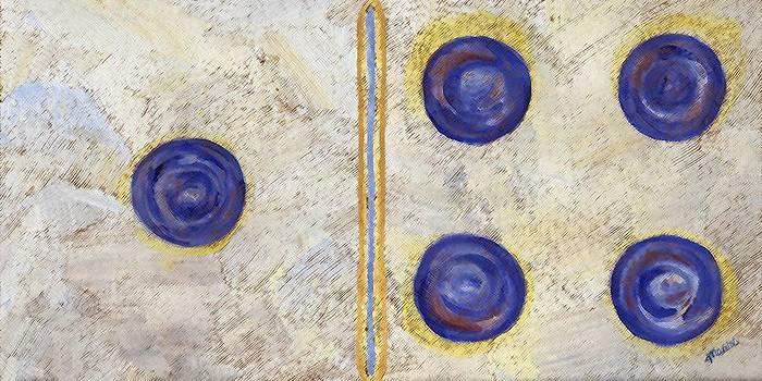 Linda Mears - Domino Three Abstract