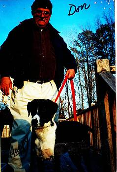 Anne-Elizabeth Whiteway - Don and Happy on the Back Deck
