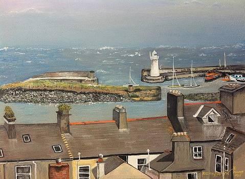 Donaghadee Ireland Irish Sea by Brenda Brown
