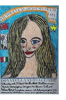 Donatella Versace by Francesco Martin