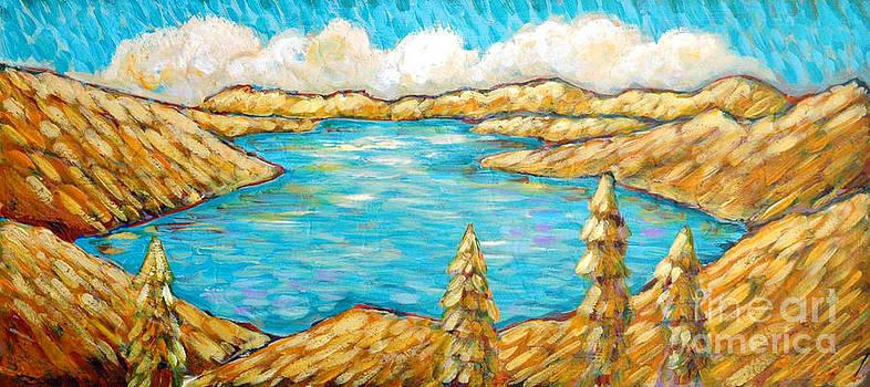 Donner Lake Light by Sara Zimmerman