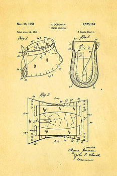 Ian Monk - Donovan Disposable Diaper Patent Art 1951