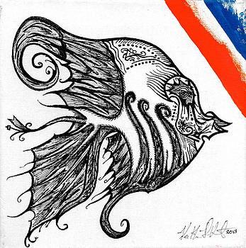 Doodle eye. by Keith Harkin
